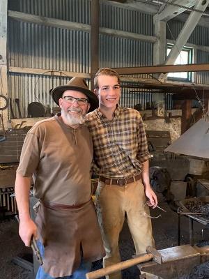 empire mine blacksmith shop